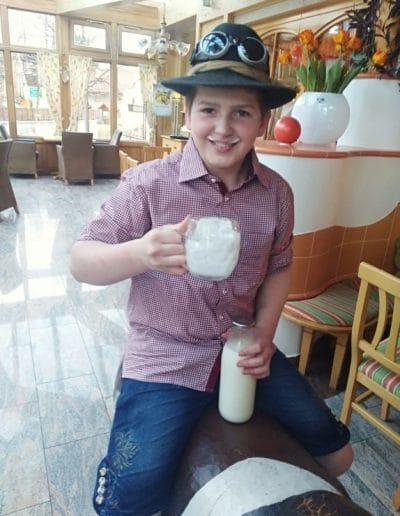 A2 Milch live Test von Lukas Pichler beim Ramswirt das schmeckt gut